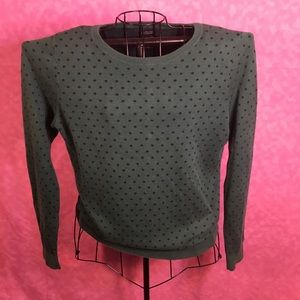 Tommy Hilfiger Green Long Sleeve Blouse! Size XL